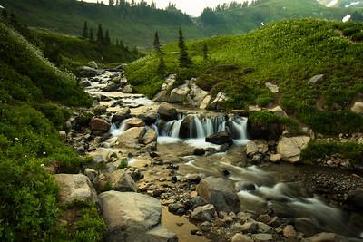 Creek at Mount Rainier