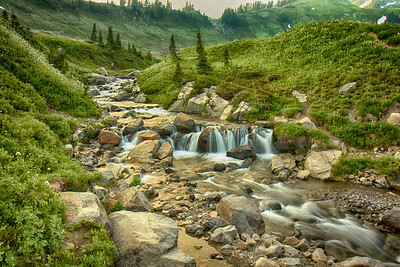 Creek near Myrtle Falls, Mt. Rainier