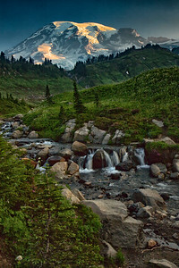 Edith Creek at Mount Rainier