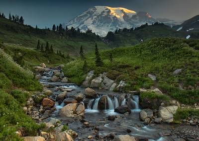 Edith Creek, Mount Rainier