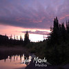 Sunrise at Reflection Lakes,