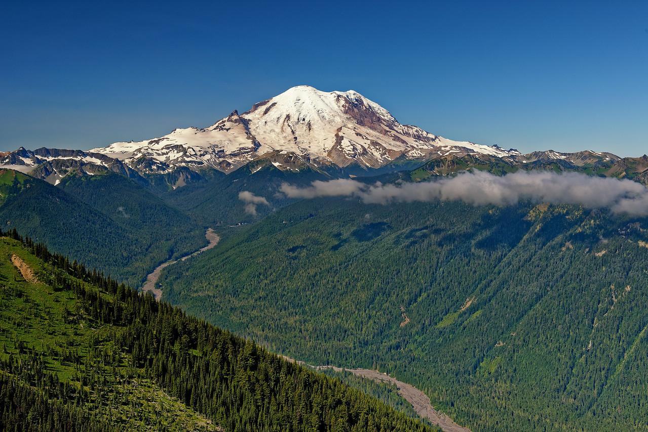 Mount Rainier from Crystal Mountain