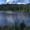Rainier and Reflection Lakes,