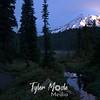 Rainier and trail at Reflection Lakes,