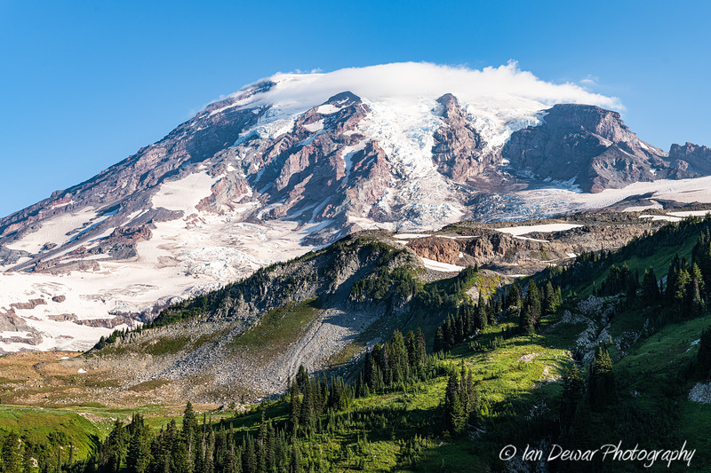 Mount Rainier with Cloud Cap