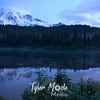 Rainier at Reflection Lakes