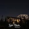 Big Dipper over Paradise Inn and Mount Rainier,