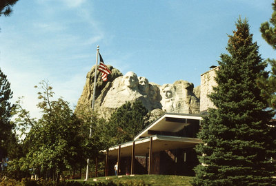 Mount Rushmore National Memorial Vistors Center