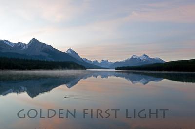Lake Maligne Jasper National Park Canada