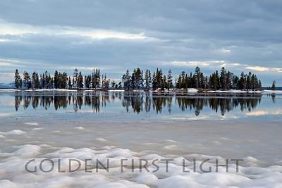 Pelican Creek at Yellowstone Lake