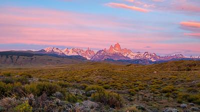 Cerro Torre and Fitz Roy, Los Glaciares, Argentina