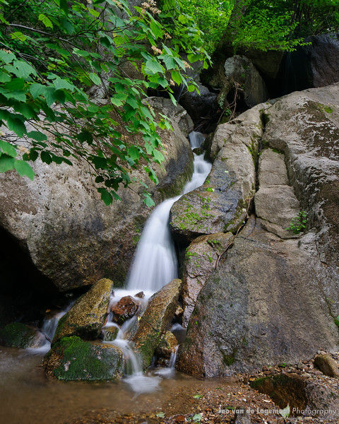 Small Virginia waterfall.