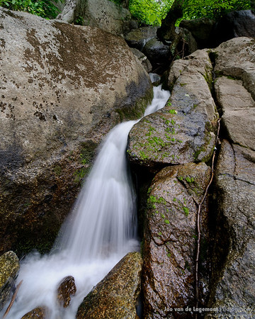Small waterfall. Long exposures are hard on a monopod