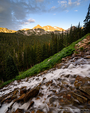 Arapahoe Pass Trail sunrise