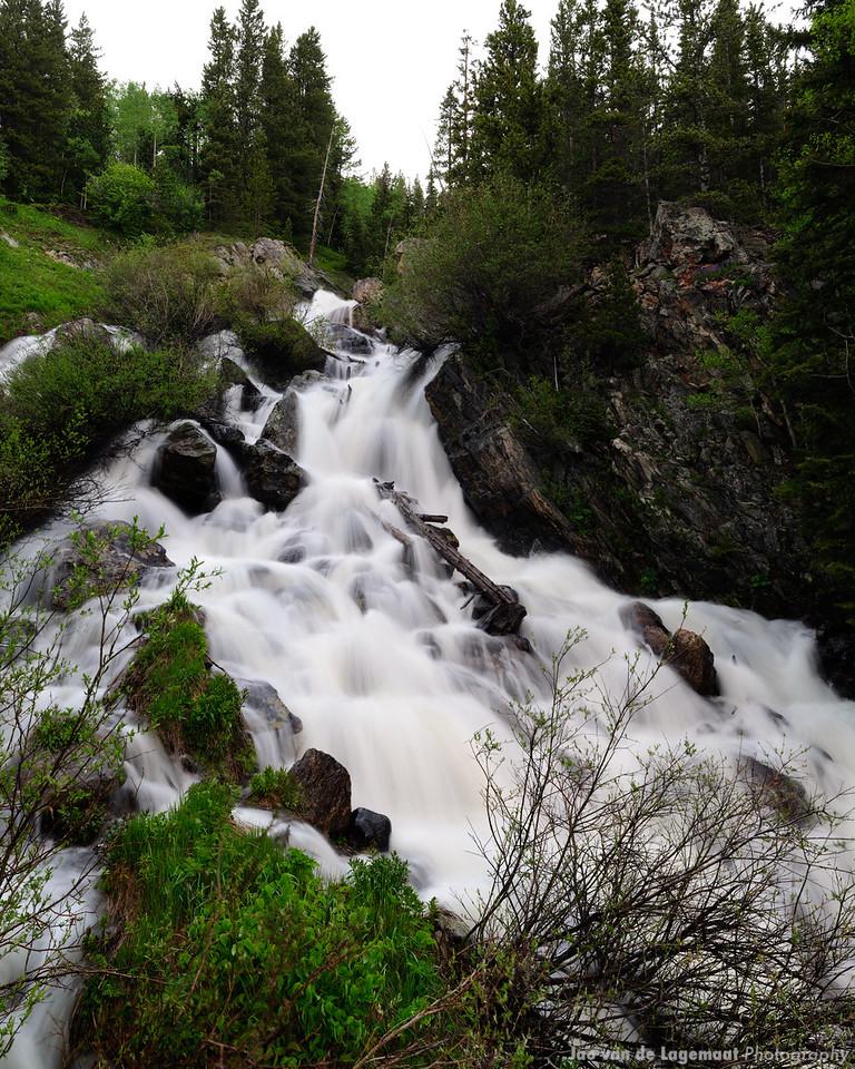 Waterfall in Arapahoe Creek