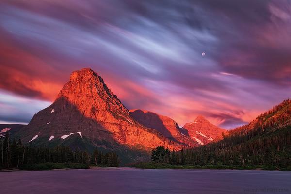 """Pray Lake Glory""  - Montana"