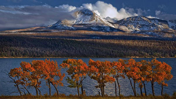 """Fall Glacier Light"" - Montana"