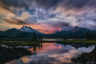 """Dreaming at Sparks Lake"" - Oregon"