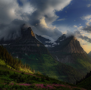 Cathedral of the Sun - Glacier National Park