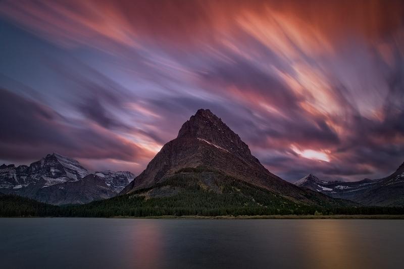 """Going Long at Glacier"" - Montana"