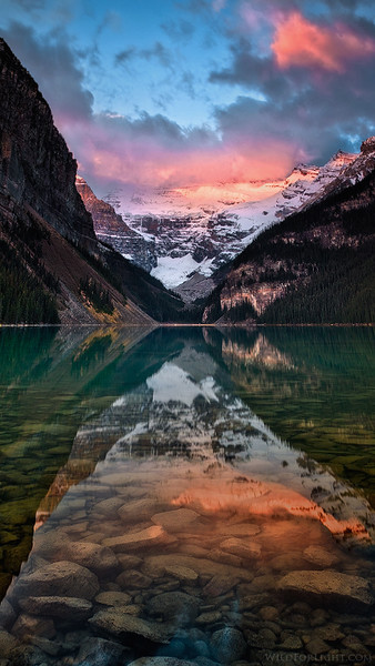 """""""Lake Louise Color Cornucopia"""" - Canada"""
