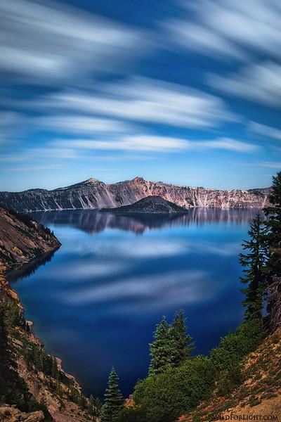 """Time Passing at Crater Lake"" - Oregon"