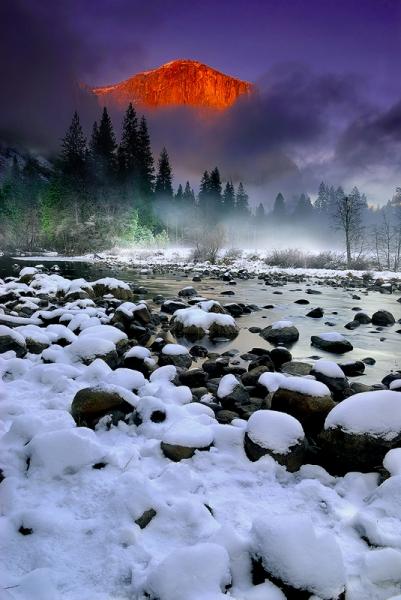 Magic Light<br /> Yosemite National Park, CA