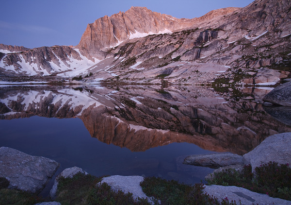 Pre-Dawn Light, <br /> Hoover Wilderness, California.