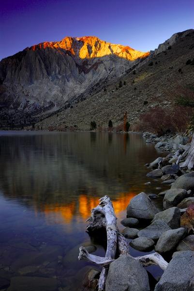 Alpineglow,<br /> Eastern Sierra, CA