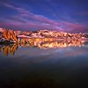 Lights At Dawn<br /> MonoLake, Eastern Sierra, CA