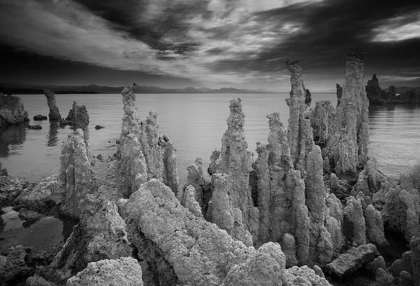 Towering Tufas,<br /> MonoLake, Eastern Sierra, California.