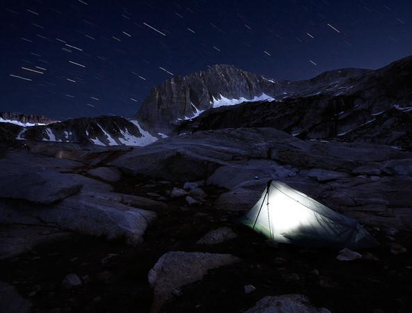 Shooting Stars, High Sierra, CA