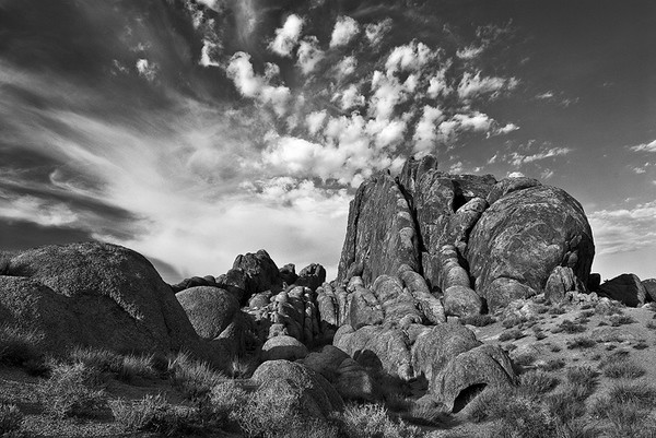 Frozen Clouds,<br /> Alabama Hills, CA