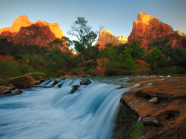 The Lights of Zion,<br /> Zion National Park, UT
