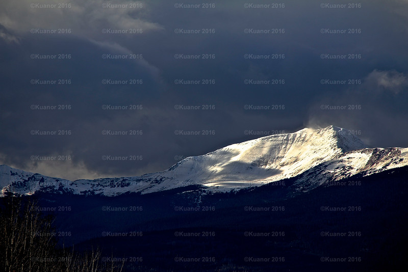 Mountain Treasure<br /> The light that shines in the dark of the sky.