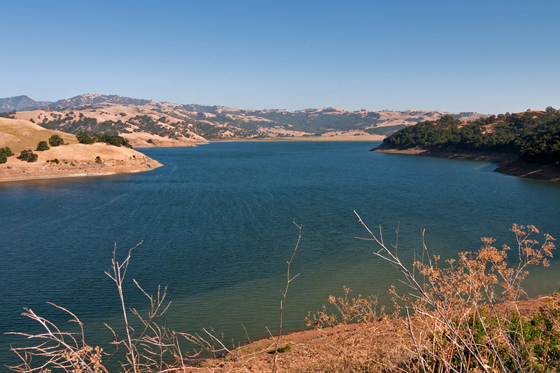 Finally took a drive all the way down Calaveras Blvd. into the mountains to hwy 680.  This is the Calaveras Reservoir.