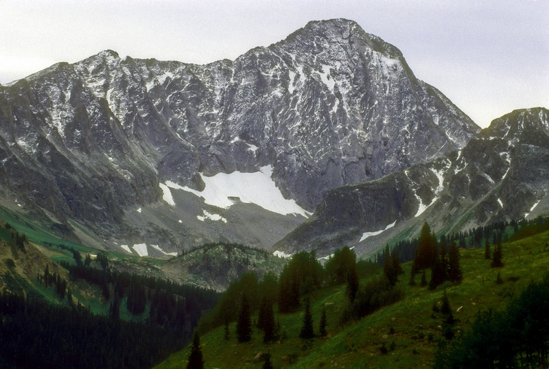 Dusting on Capitol Peak
