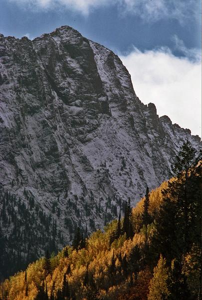 Northwest face of Capitol Peak