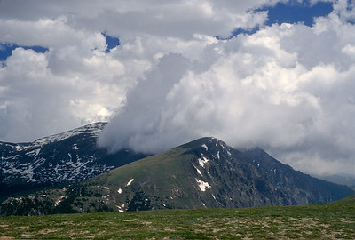More roadside photography.  Stunning cloud formations seen from Trail Ridge Rd, Rocky Mountain National Park