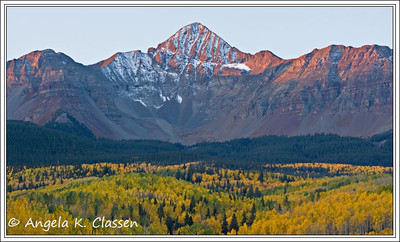 Wilson Peak, near Telluride, Colorado
