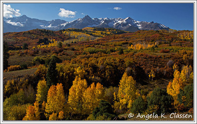 Dallas Divide, between Ridgway and Telluride, Colorado