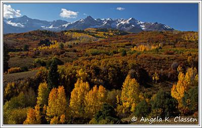 Dallas Divide, between Ridgway and Telluride, Colorado