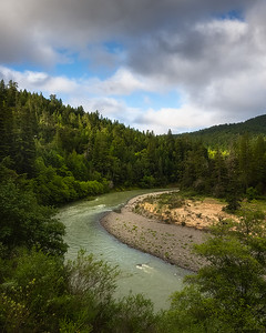 Eel river, south fork. N California