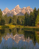 Grand Teton morning view, Wyoming