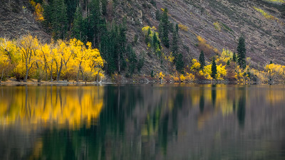 Convict lake fall colors. Eastern Sierra CA