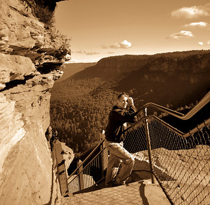 Wentworth Falls - The Grand Stairway