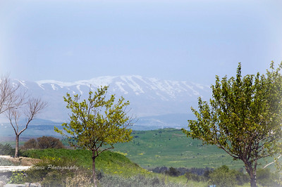 Mount Hermon near the Syrian border (Israel)