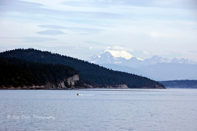 Mount Baker, shot from Deception Pass State Park.
