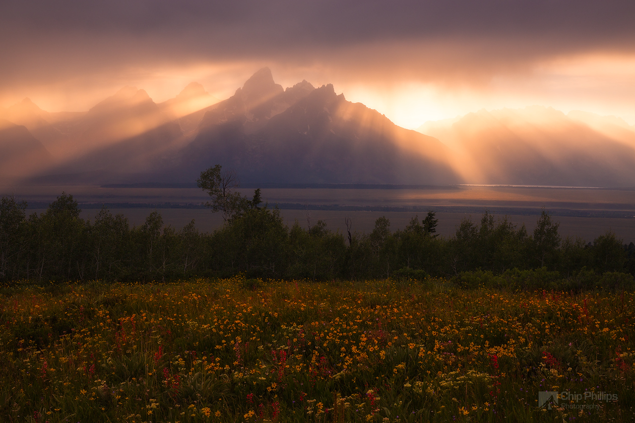 Storm Break Grand Teton