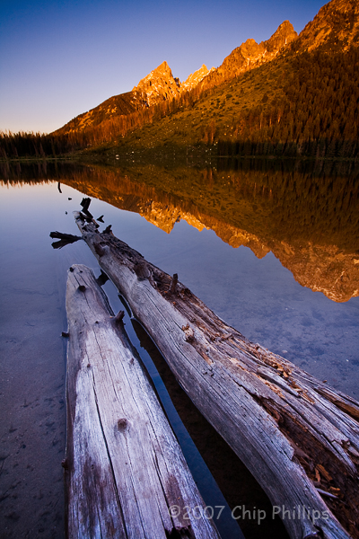 """String Lake Sunrise""